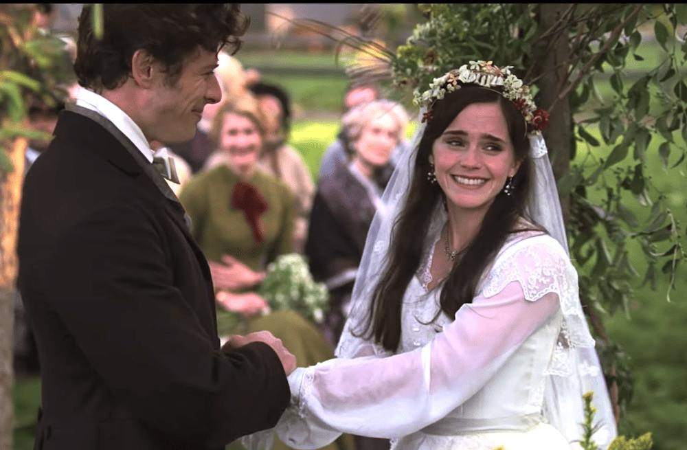 Képtalálatok a következőre: little women emma watson wedding