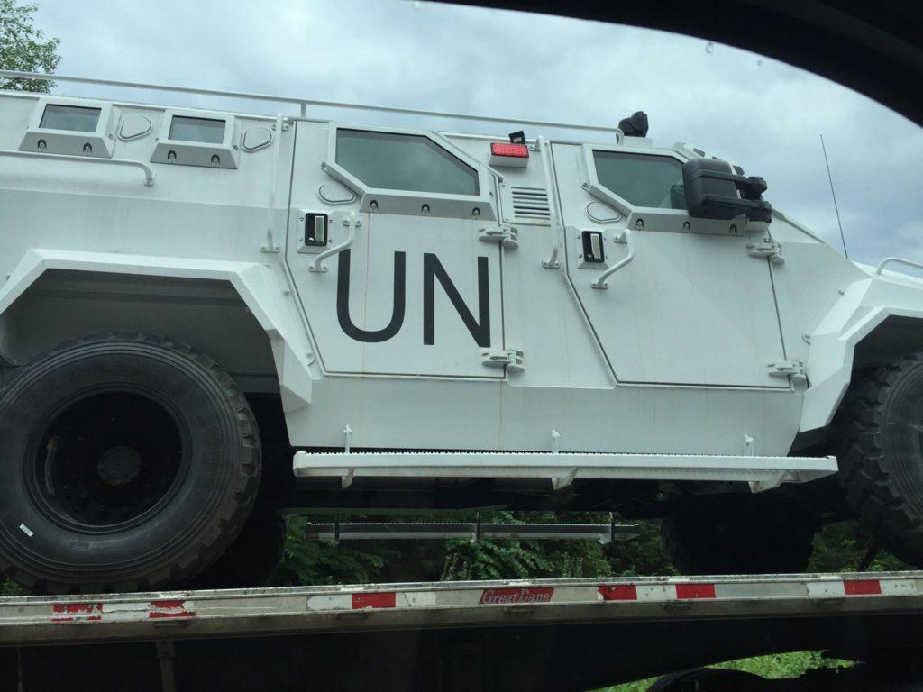 UN vehicle 3