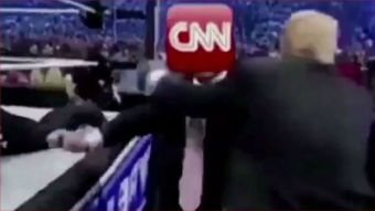CNN host giddy after network threatens to expose Trump GIF creator - The American Mirror
