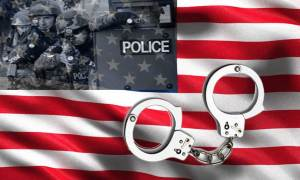 The USA is the largest and most efficient police state in the history of mankind.