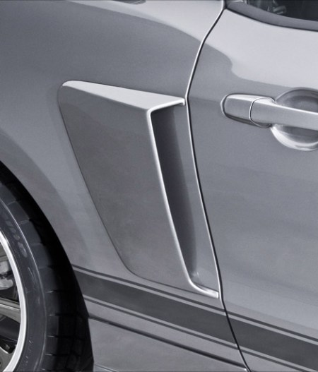 2005-2014 Mustang Side Scoops