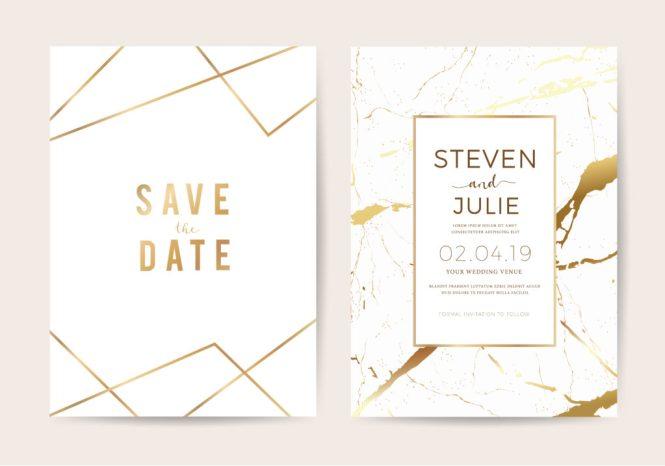 Date Vs The Wedding Invitation