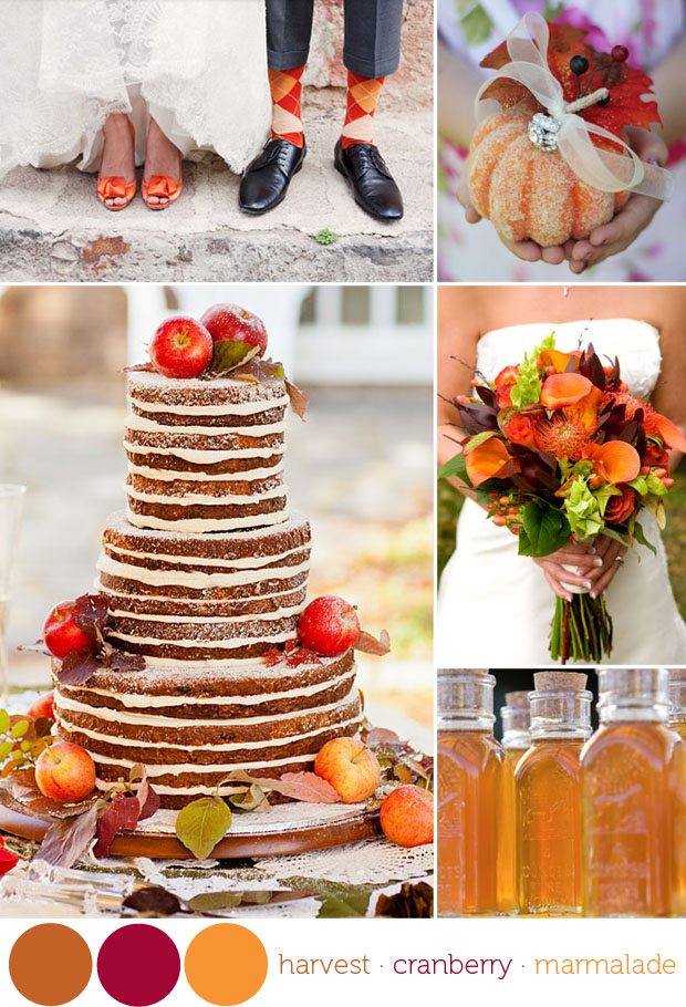 Color Harvest Time Fall Wedding Colors Inspiration Board