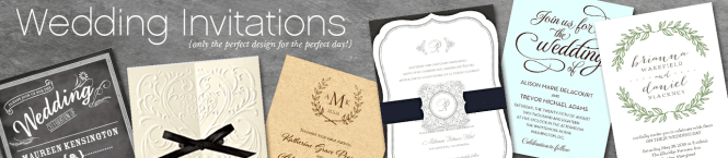 Willow Ecru Monogram Wedding Invitations