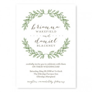 Wedding Invitations Sample Wording Vertabox To Inspire You In Creating Fetching