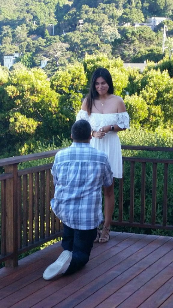 ana duarte getting proposed to