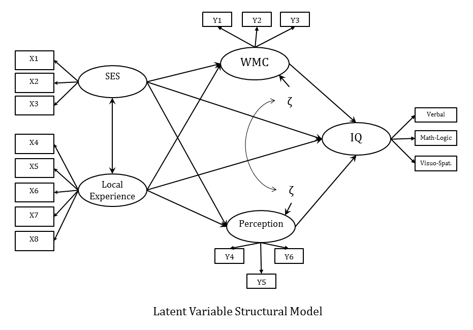 The four models you meet in Structural Equation Modeling