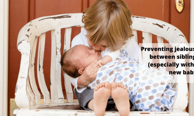 The BEST way to prevent jealousy between siblings when bringing baby home