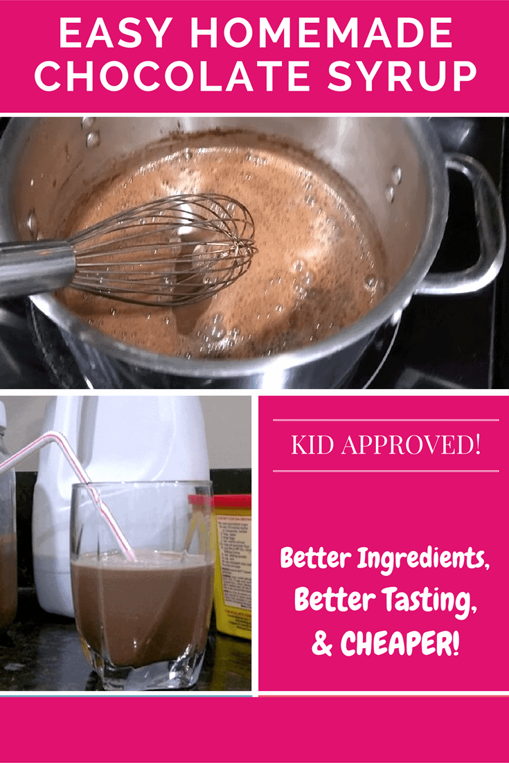 Best Tasting Homemade Chocolate Syrup Recipe | The Analytical Mommy