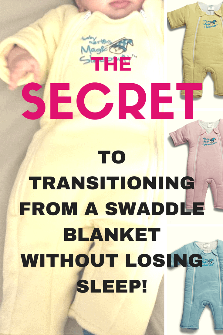 Want to help your baby to transition from a swaddle blanket more easily? Or maybe you're not sure if they are ready to transition? This post will answer both questions!