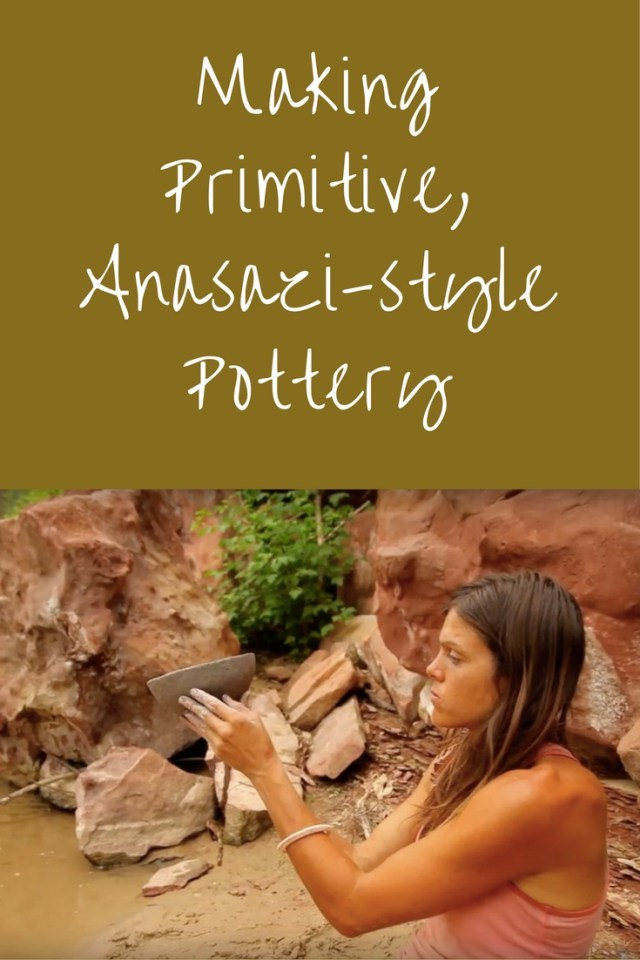 Watch young artist and primitive potter, Kelly Magleby, create Anasazi style pottery. For the sake of authenticity, Kelly ventured into the wilderness of Southern Utah to make her pottery like the Native Americans.