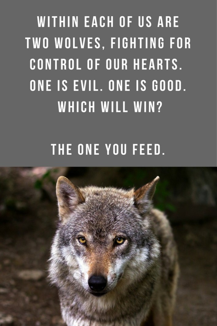 The Legend of the Two Wolves | A Legend of a Cherokee Grandfather and Grandson talking about the two wolves within each of us. Nathan Mitchell, the co-director of Anasazi Foundation, shares the Legend of the Two Wolves—a Native American Legend about the epic battle that takes place within each of us...
