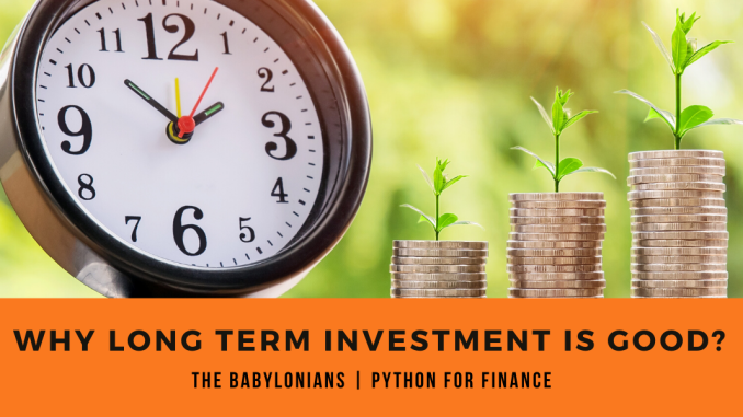 why long term investment is good