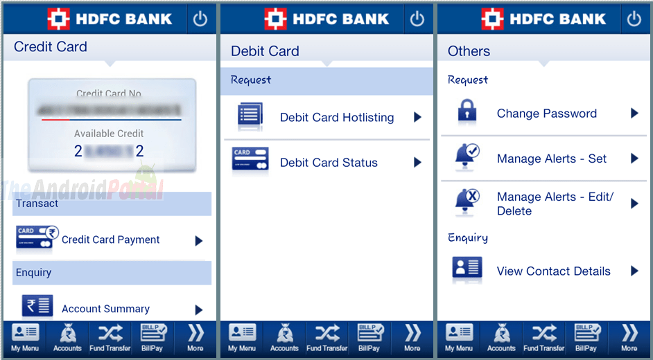 How Make Hdfc Credit Card Payment