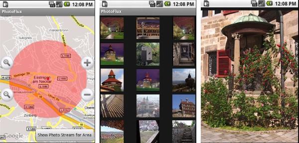 Photoflux android app