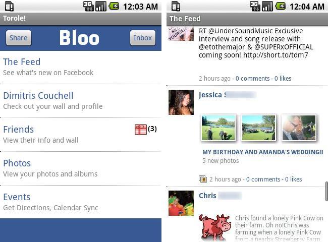 Bloo Facebook