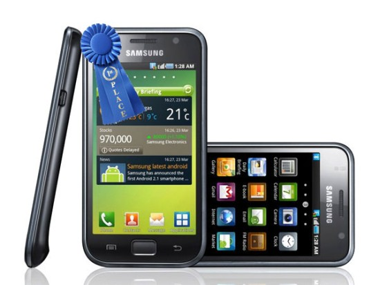 Samsung Galaxy S Japan Top selling phone