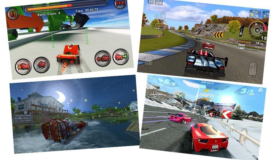 Racing Games Roundup Intro