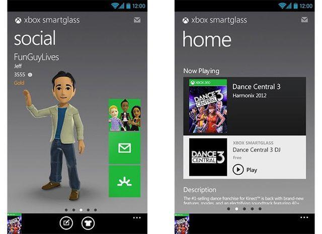 Xbox SmartGlass app