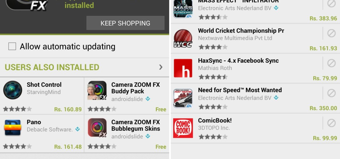Play Store APK 3.10.9 Changes