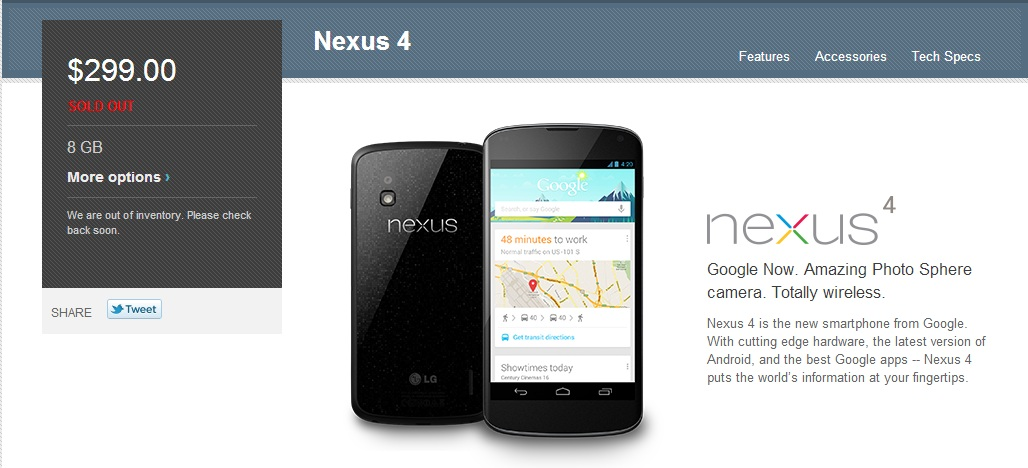 Nex4_8GB_Sold Out