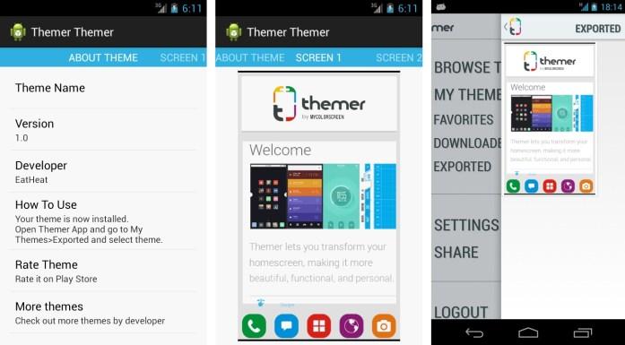 Themer Themer Screenshots