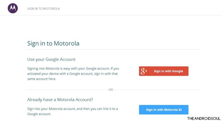 motorola-sign-in-page