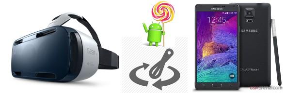 Lollipop Update for Galaxy Note 4