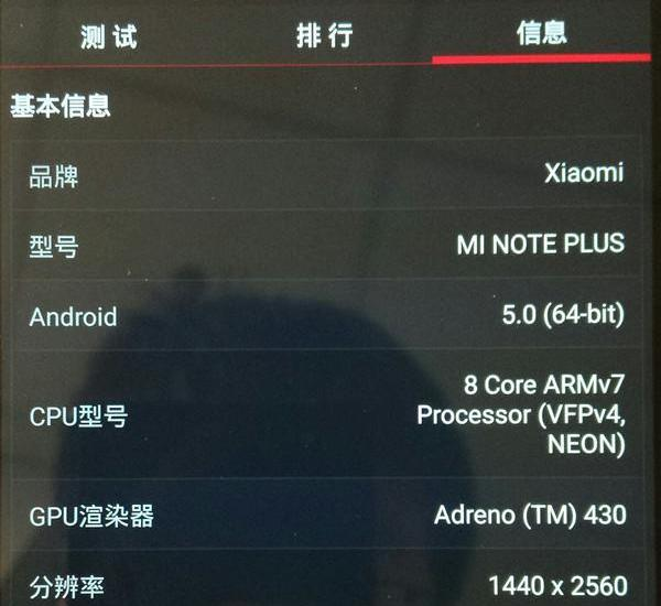 Xiaomi Mi Note Pro Lollipop Update