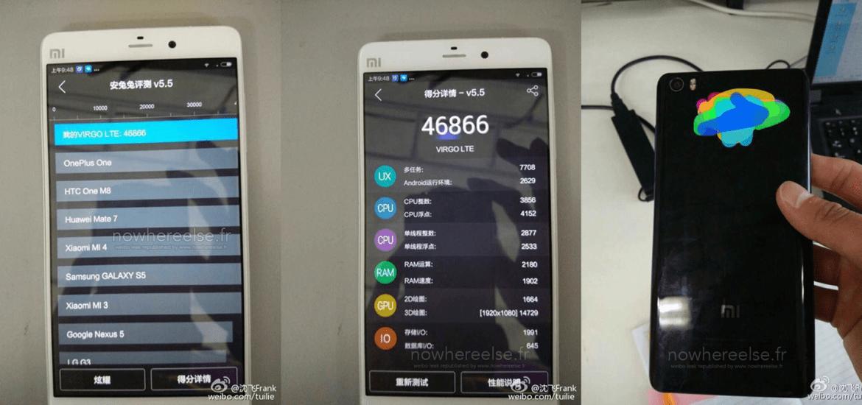 Xiaomi Mi4S Mi5