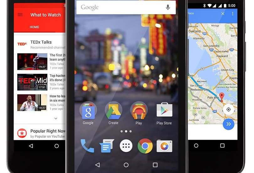 Android One Android 5.1 Lollipop