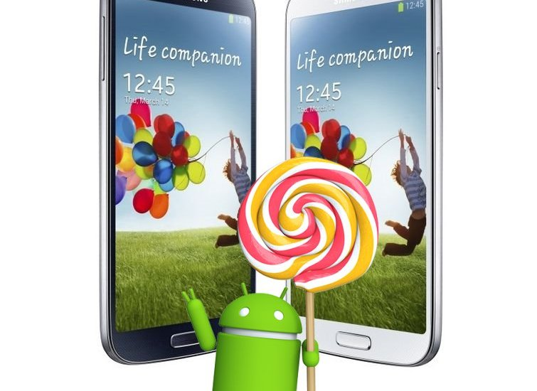 Galaxy S4 Android 5.0.1 Lollipop