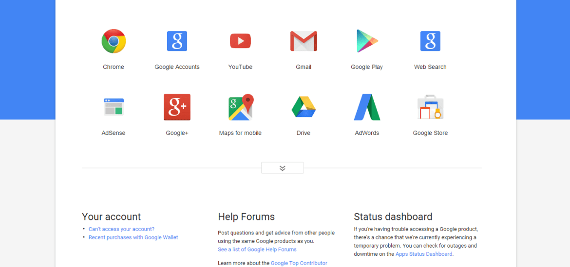Google Support pages gets Material Design