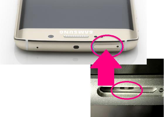 T-Mobile Galaxy S6 Edge White No Water Damage
