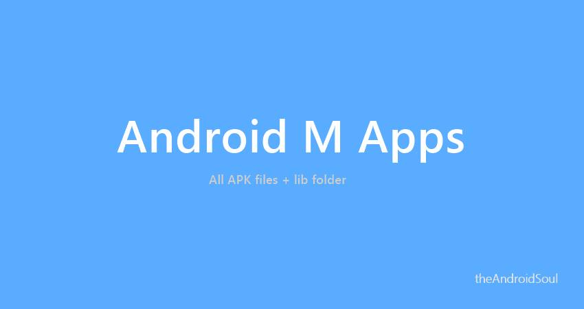 Android M Apps