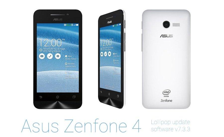Asus Zenfone 4 Lollipop Update