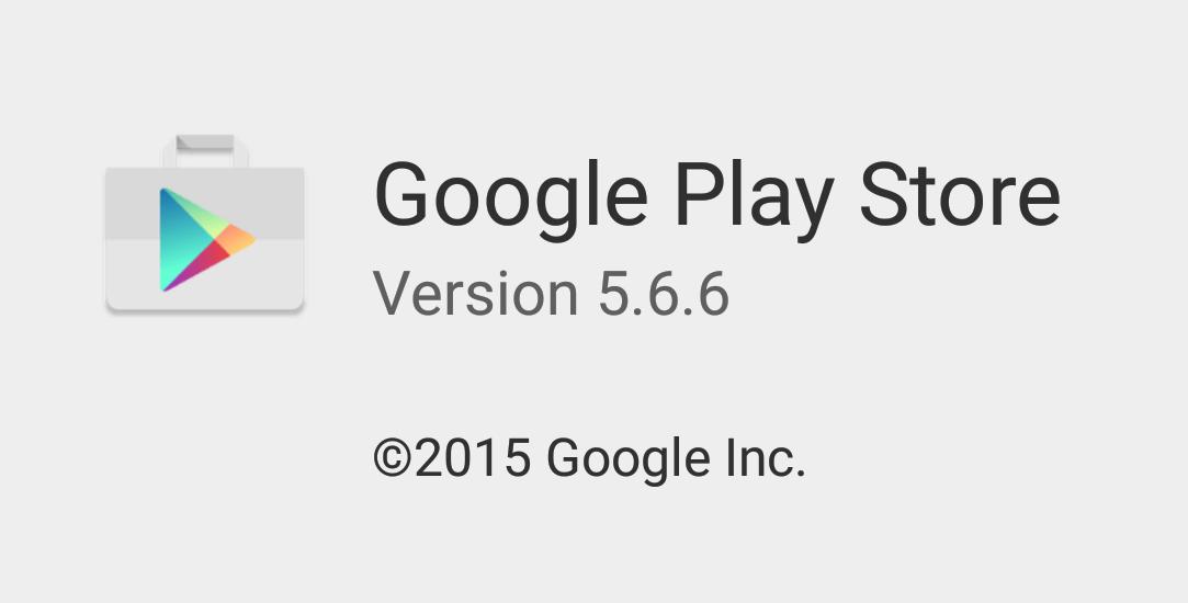 Google Play Store 5.6.6