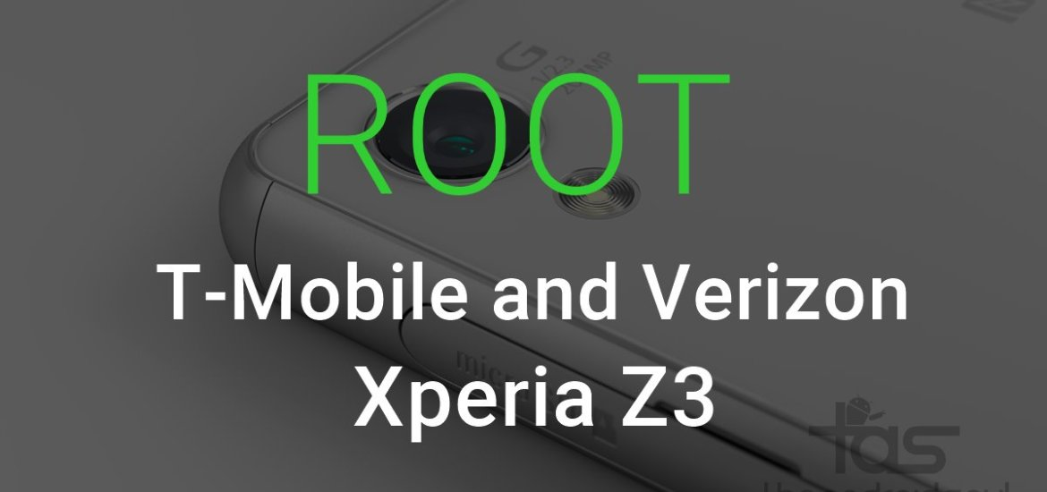 T-Mobile Xperia Z3 Root
