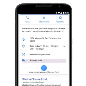 google order food