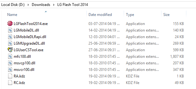 how to put lg firmware back on phone
