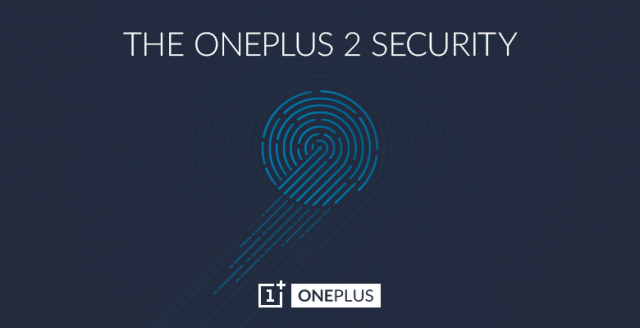 oneplus 2 fingerprint scanner