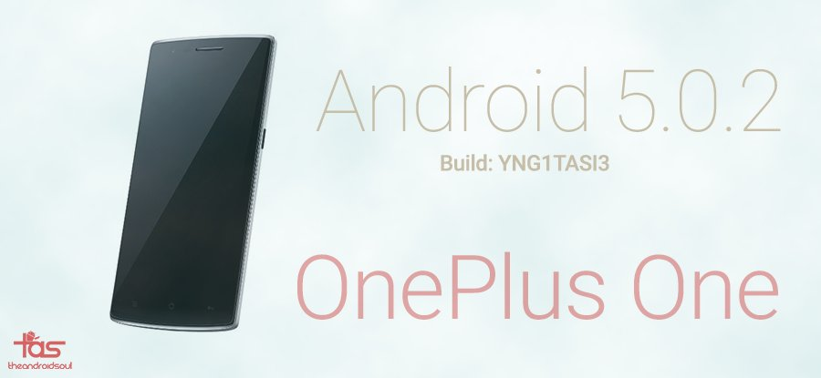 oneplus one YNG1TASI3 update