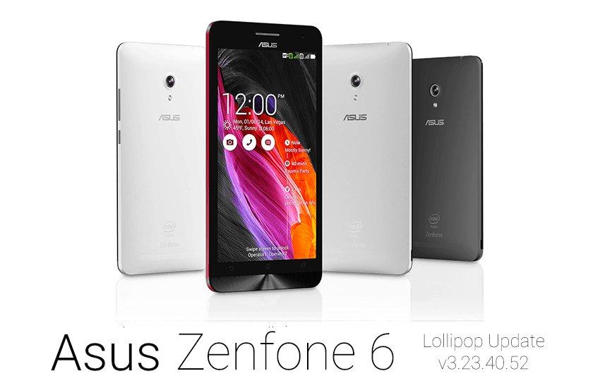 zenfone 6 Android 5.0 Lollipop update