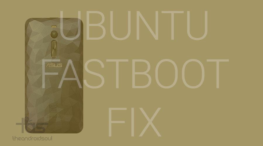 ubuntu fastboot fix