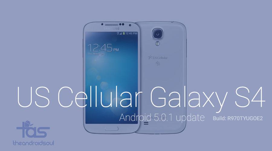 us cellular galaxy s4 lollipop update