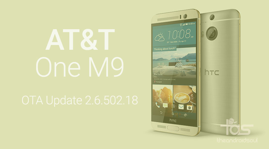 AT&T One M9 2.6.502.18