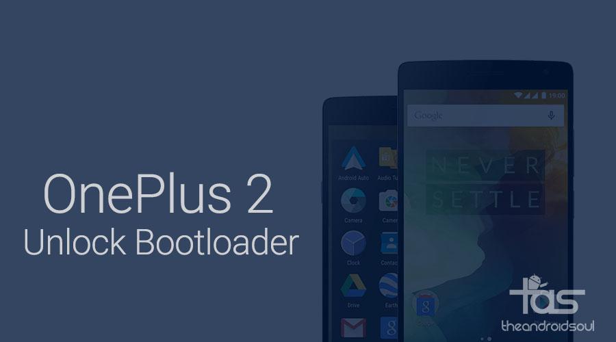 OnePlus 2 Bootloader Unlock