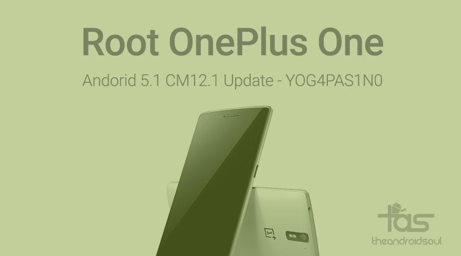 root OnePlus One cm12.1