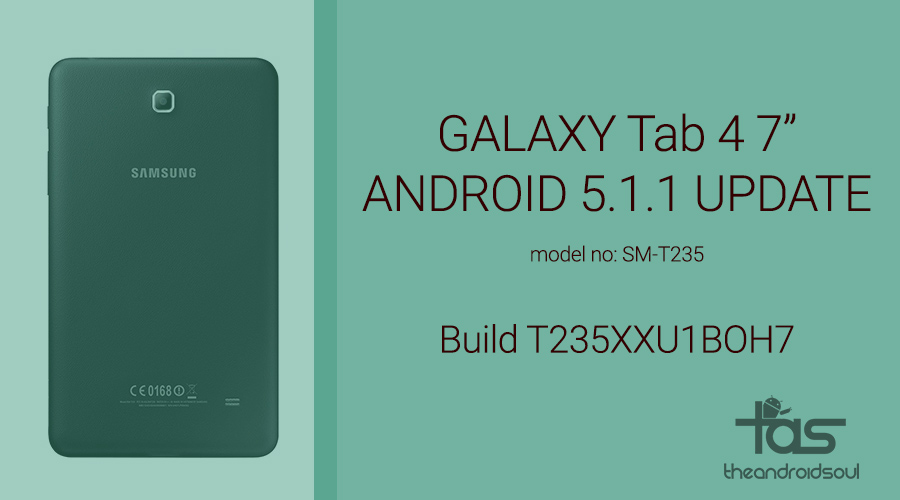 Galaxy Tab 4 Android 5.1.1 Update