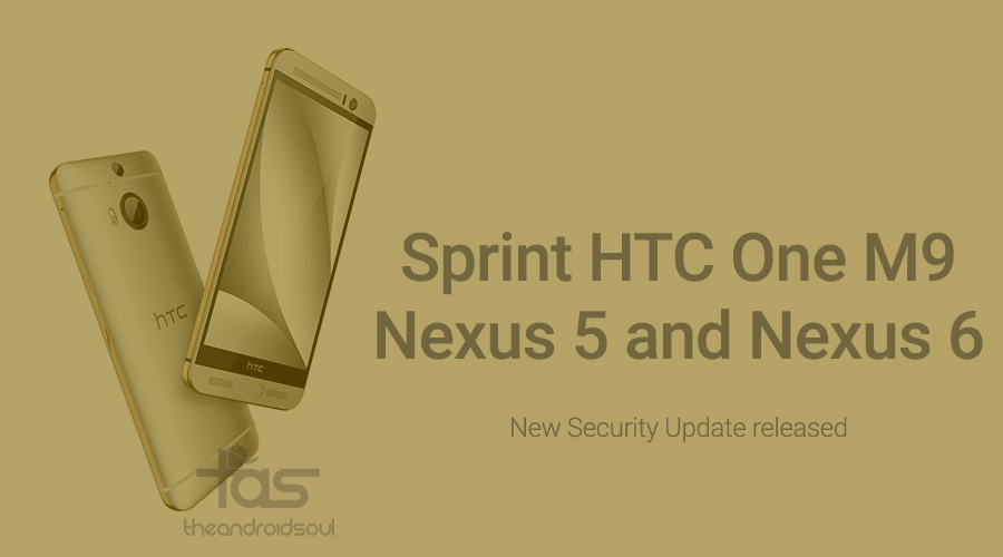 sprint htc one m9 stagefright update OTA